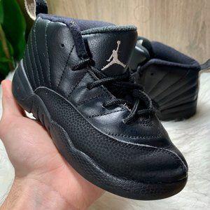 Nike Air Jordan 12 Retro The Master Black Toddler